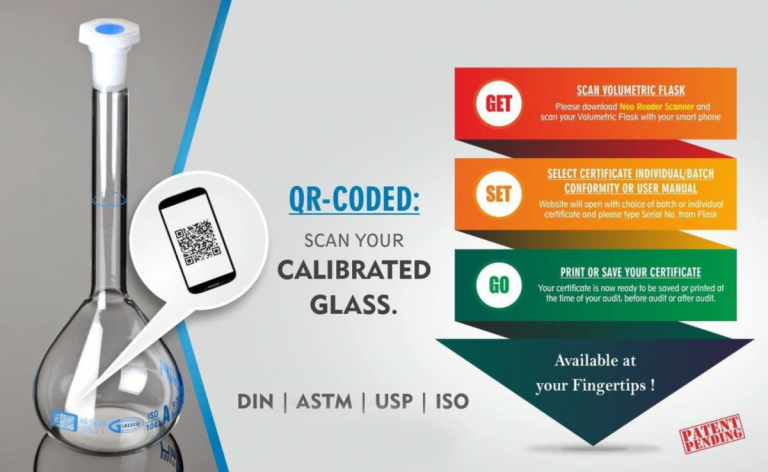 QR Coded Glassware